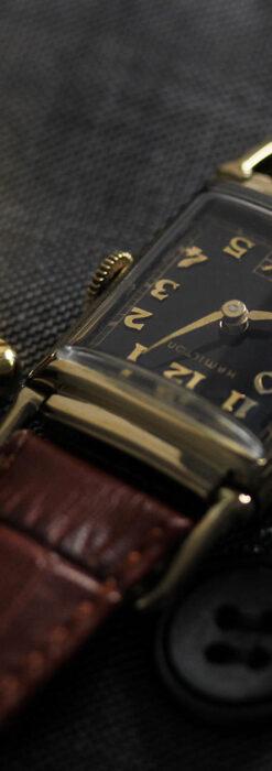 着け方を選んで楽しむ華麗なハミルトンのアンティーク腕時計 【1940年頃】-W1535-11