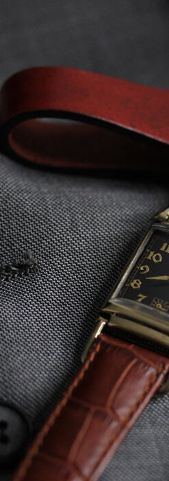着け方を選んで楽しむ華麗なハミルトンのアンティーク腕時計 【1940年頃】-W1535-13