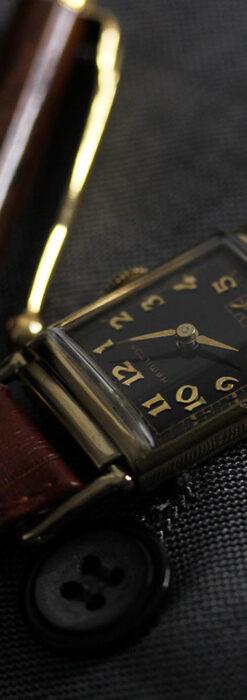 着け方を選んで楽しむ華麗なハミルトンのアンティーク腕時計 【1940年頃】-W1535-14