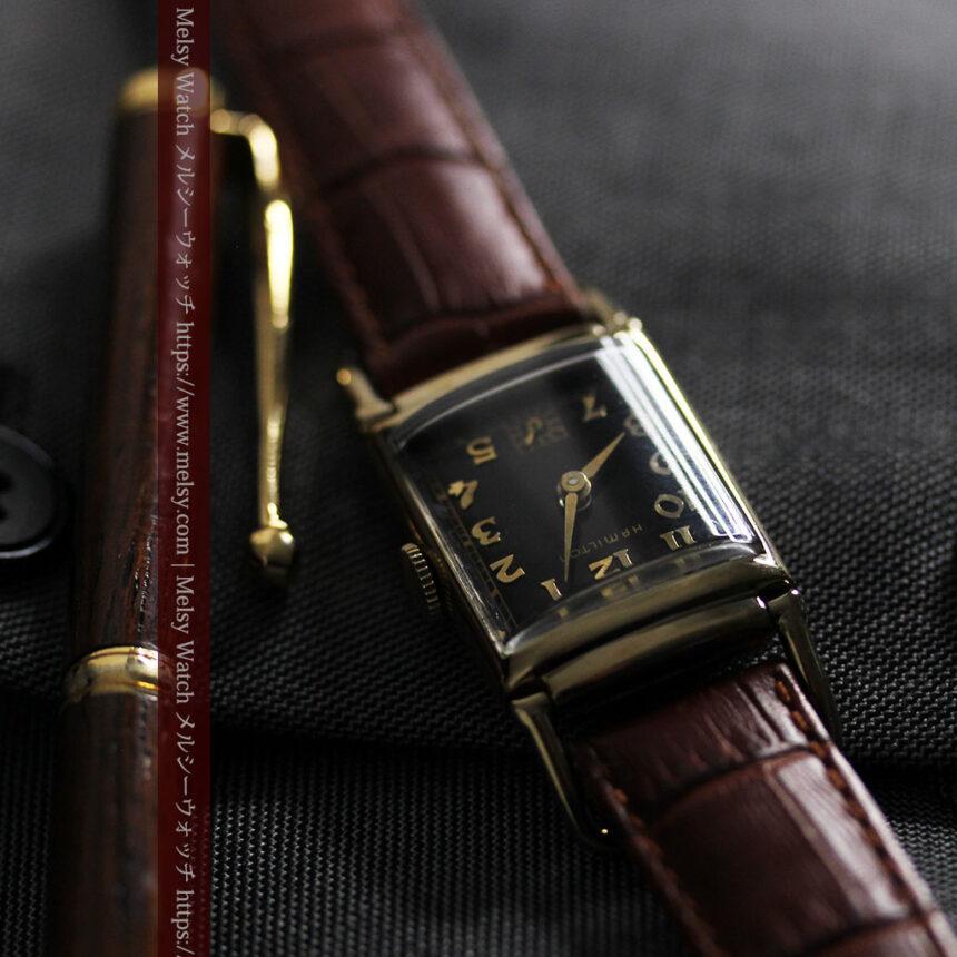 着け方を選んで楽しむ華麗なハミルトンのアンティーク腕時計 【1940年頃】-W1535-15