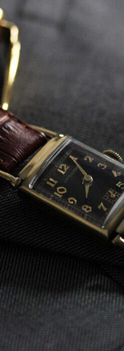 着け方を選んで楽しむ華麗なハミルトンのアンティーク腕時計 【1940年頃】-W1535-16