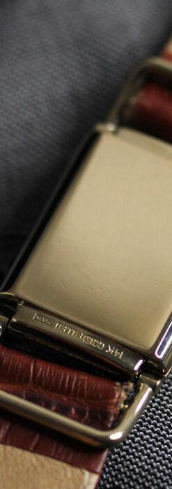 着け方を選んで楽しむ華麗なハミルトンのアンティーク腕時計 【1940年頃】-W1535-17
