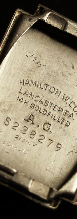 着け方を選んで楽しむ華麗なハミルトンのアンティーク腕時計 【1940年頃】-W1535-18
