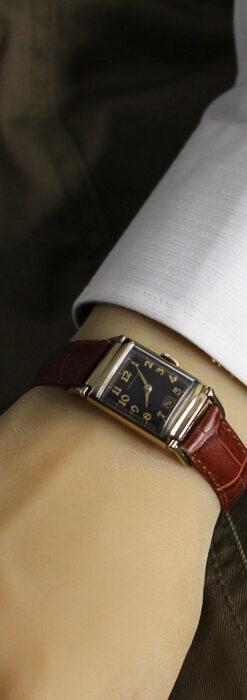 着け方を選んで楽しむ華麗なハミルトンのアンティーク腕時計 【1940年頃】-W1535-19