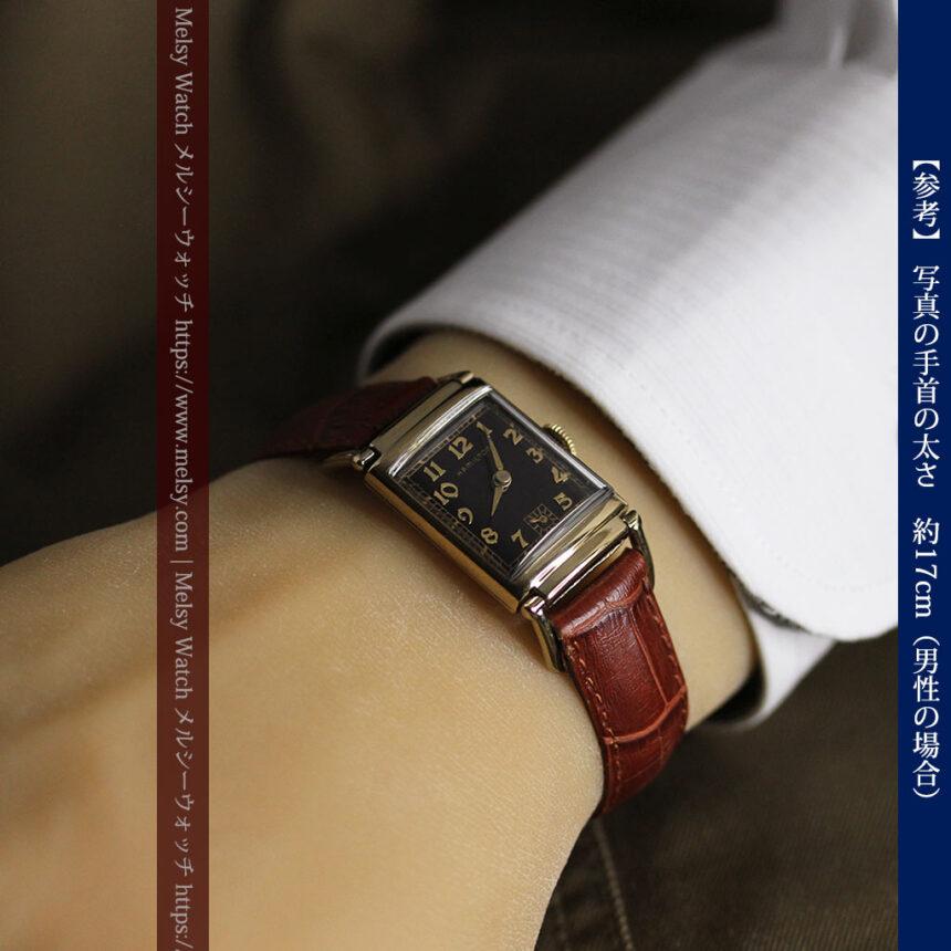 着け方を選んで楽しむ華麗なハミルトンのアンティーク腕時計 【1940年頃】-W1535-20