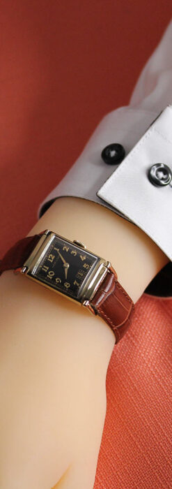 着け方を選んで楽しむ華麗なハミルトンのアンティーク腕時計 【1940年頃】-W1535-21