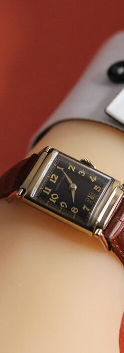 着け方を選んで楽しむ華麗なハミルトンのアンティーク腕時計 【1940年頃】-W1535-22