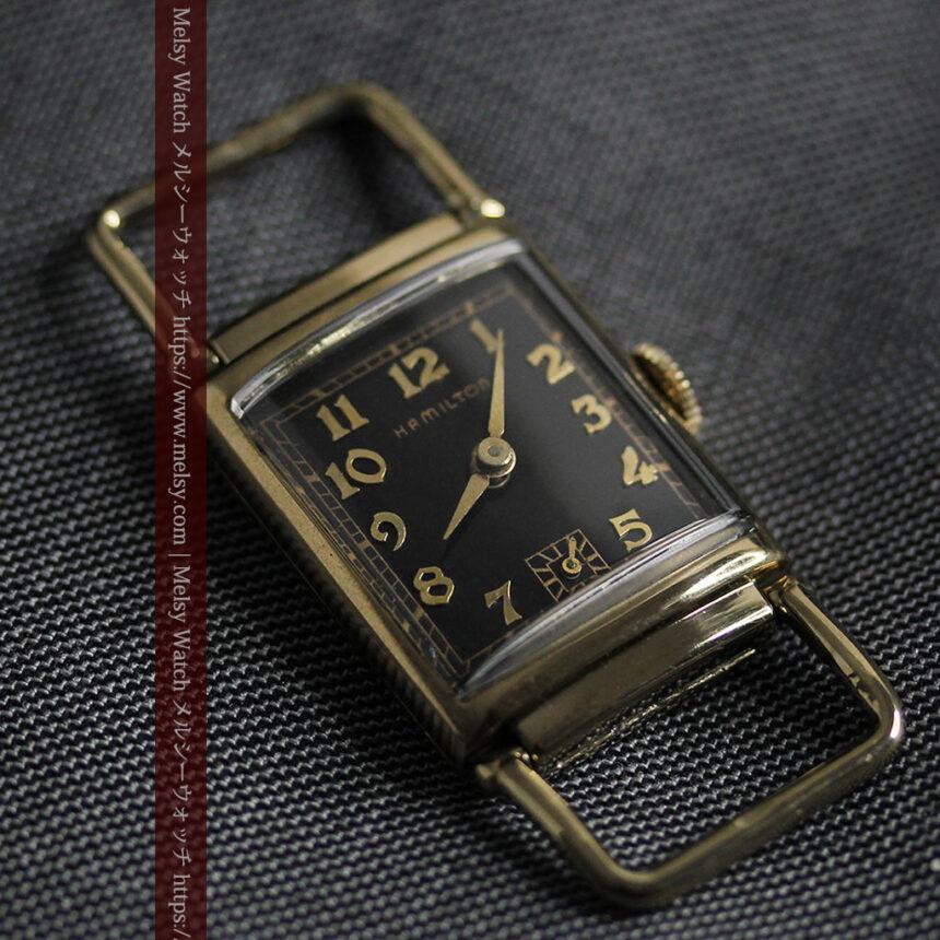 着け方を選んで楽しむ華麗なハミルトンのアンティーク腕時計 【1940年頃】-W1535-3