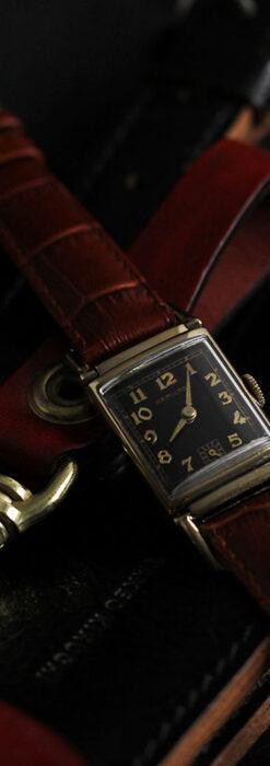 着け方を選んで楽しむ華麗なハミルトンのアンティーク腕時計 【1940年頃】-W1535-5