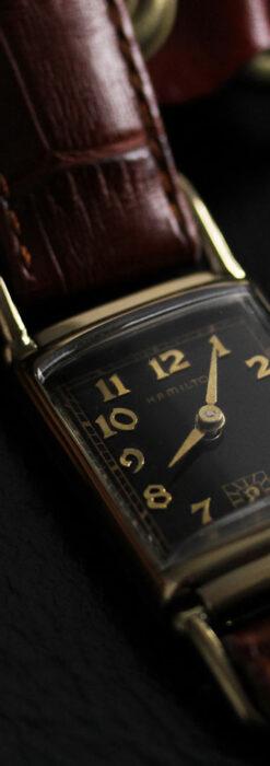 着け方を選んで楽しむ華麗なハミルトンのアンティーク腕時計 【1940年頃】-W1535-9