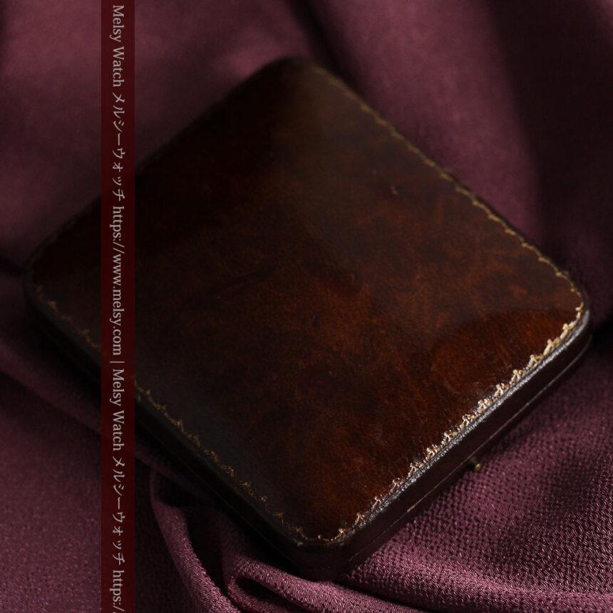 英国ベンソンの風格溢れる金無垢アンティーク懐中時計 【1931年頃】箱付き-P2310-23