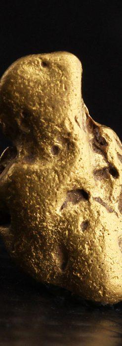 約2.2gの可愛らしい姿の自然金・オーストラリア産-A0256-2