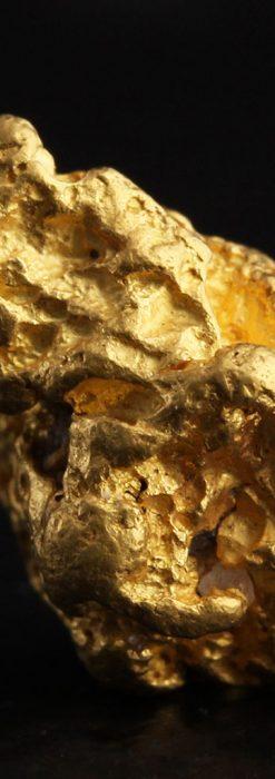 約6.2gの掌でゴロゴロと転がる大粒の自然金・オーストラリア産-A0258-2