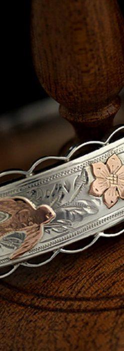 銀無垢バングル・ブレスレット-A0170-1