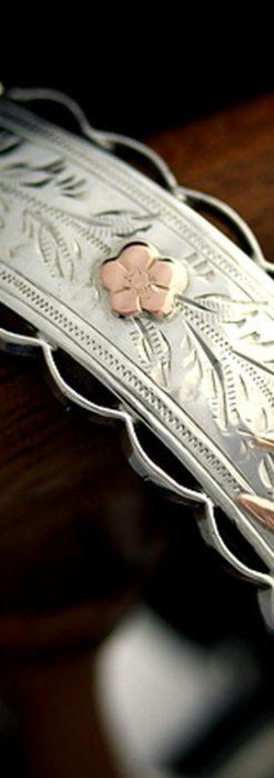 銀無垢バングル・ブレスレット-A0170-10
