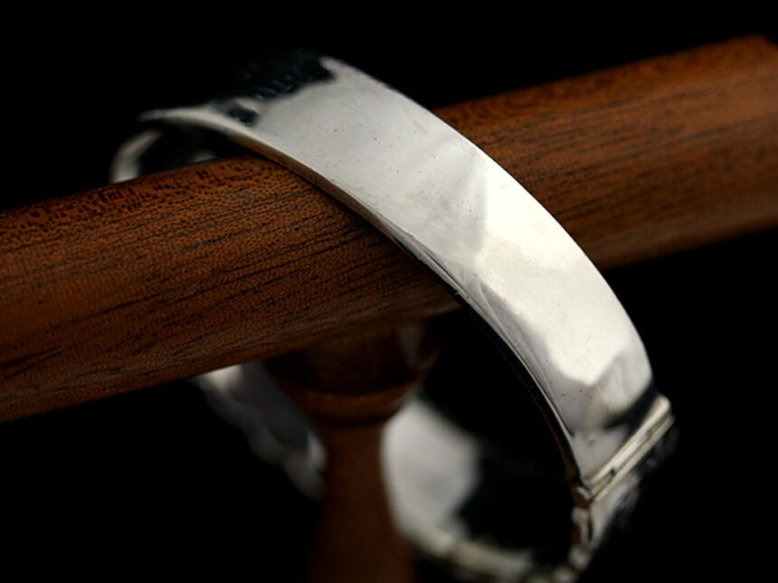 銀無垢バングル・ブレスレット-A0170-11