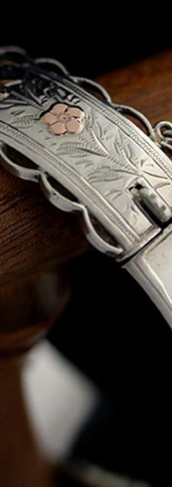 銀無垢バングル・ブレスレット-A0170-12