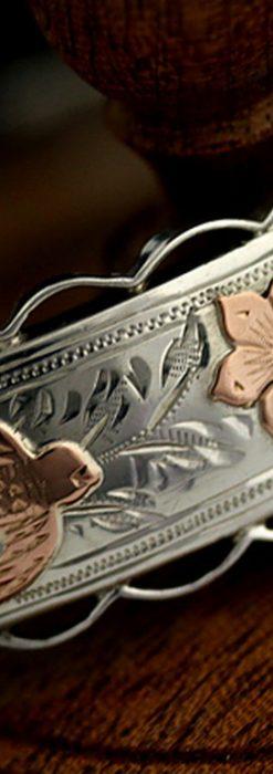 銀無垢バングル・ブレスレット-A0170-3