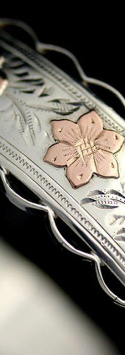 銀無垢バングル・ブレスレット-A0170-4