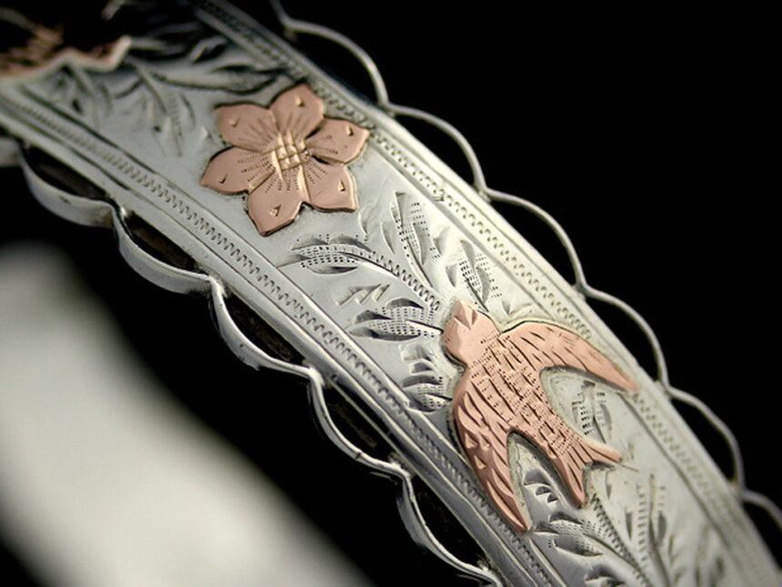 銀無垢バングル・ブレスレット-A0170-5