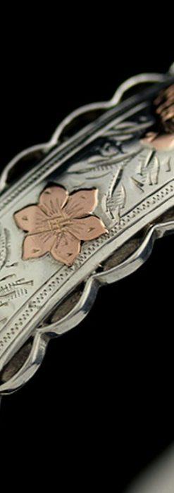 銀無垢バングル・ブレスレット-A0170-6