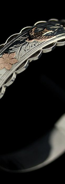 銀無垢バングル・ブレスレット-A0170-7