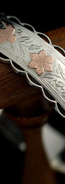 銀無垢バングル・ブレスレット-A0170-9
