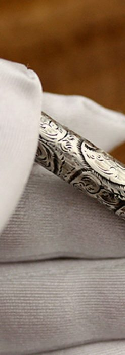銀の鉛筆ホルダー-A0181-2