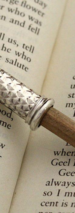銀の鉛筆ホルダー-A0182-1