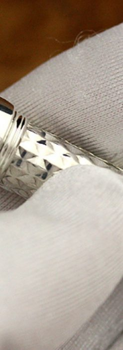 銀の鉛筆ホルダー-A0182-2