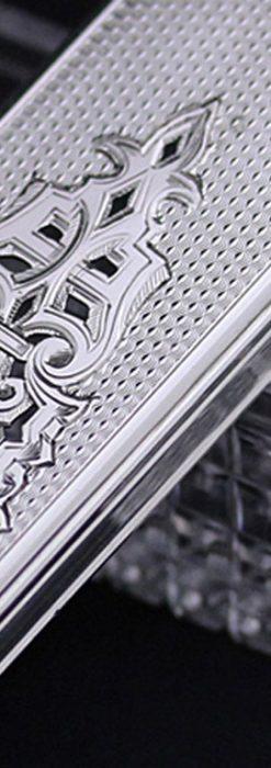 銀とガラスの小物入れ-A0197-2