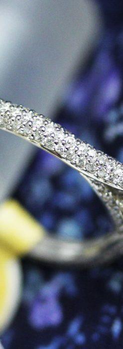137石のダイヤモンドと18金の指輪-A0199-1