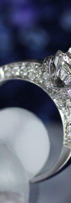 49石のダイヤモンドと18金の指輪-A0201-A