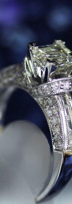 49石のダイヤモンドと18金の指輪-A0201-2