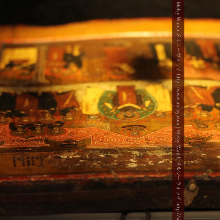生神女庇護祭を描いた18世紀のイコン・聖画像-A0213-12