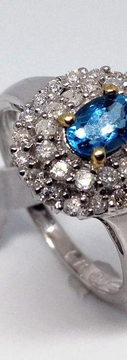トルマリンとダイヤモンドの金無垢指輪-A0221-5