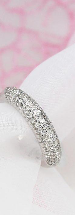 シングルカットダイヤモンドの18金リング-A0230-1