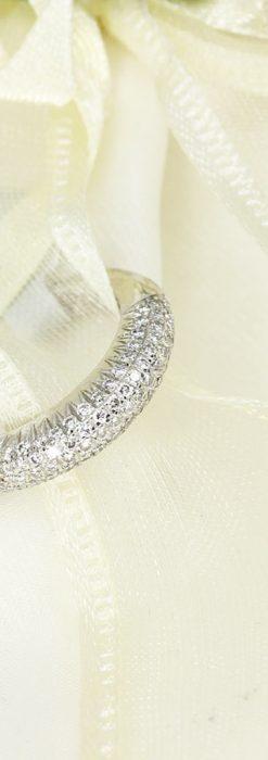 シングルカットダイヤモンドの18金リング-A0230-