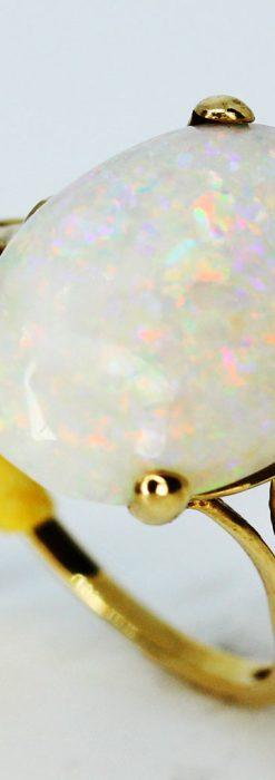 大粒オパールの9金リング-A0238-4