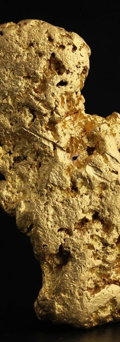 自然金ビクトリア州採掘の純度97%の金塊-A0239-1