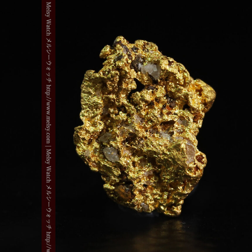 0.86gの小さな自然金-A0254-1
