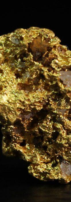 0.86gの小さな自然金-A0254-2