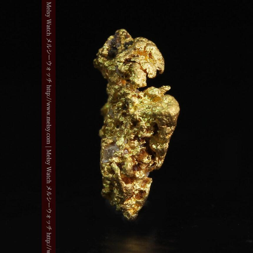 0.86gの小さな自然金-A0254-4