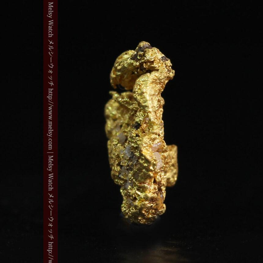 0.86gの小さな自然金-A0254-5