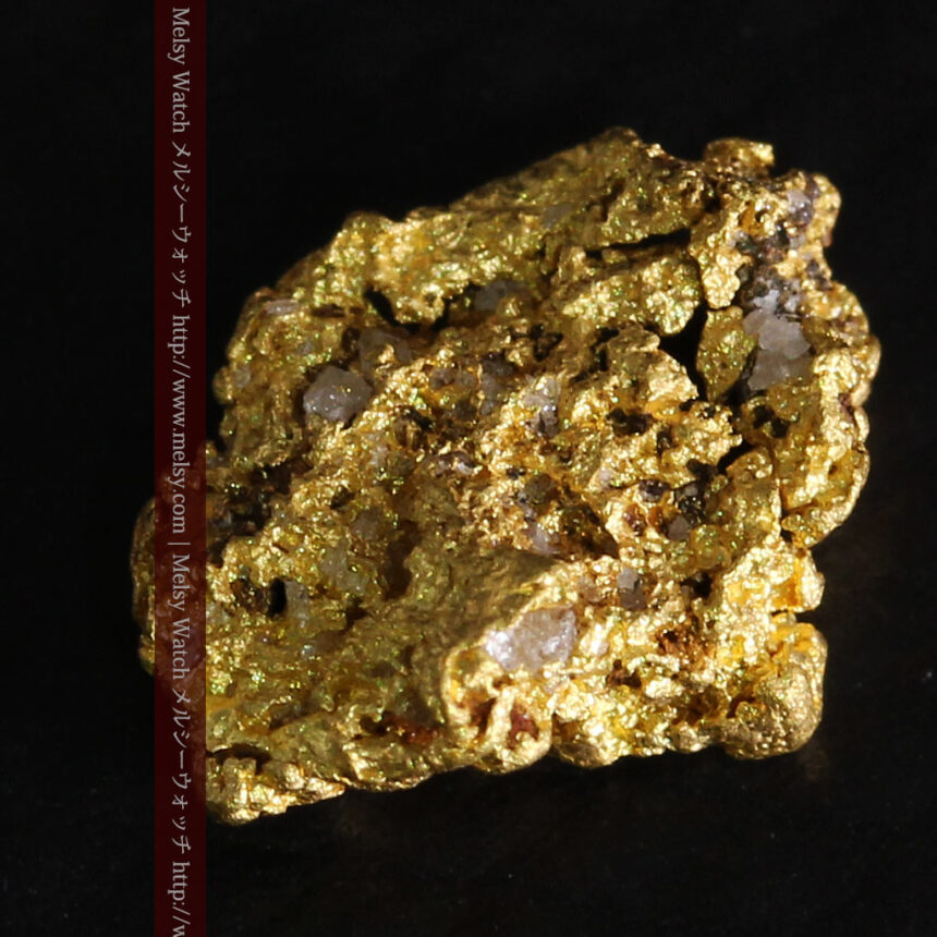 0.86gの小さな自然金-A0254-6