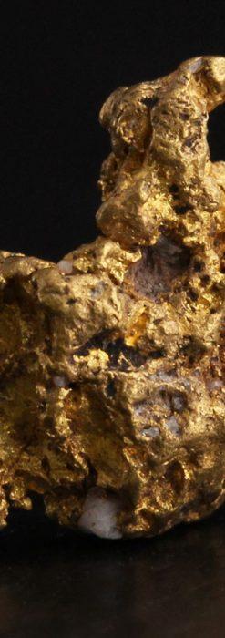 約1.3gの粗さを楽しむ小さな自然金・オーストラリア産-A0259-1