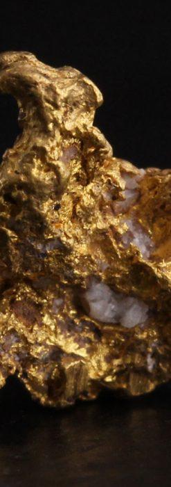 約1.3gの粗さを楽しむ小さな自然金・オーストラリア産-A0259-2