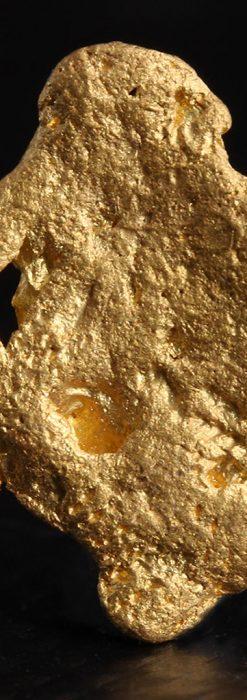 約2gの薄く平らな自然金・オーストラリア産-A0260-2