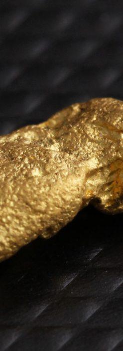 約1.5gの豆のような形の自然金・オーストラリア産-A0263-1