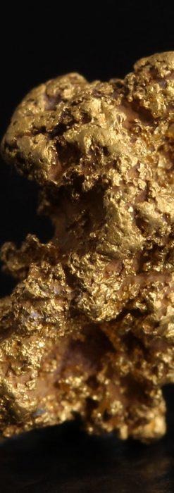 約1.9gの犬のような形の自然金・オーストラリア産-A0264-1